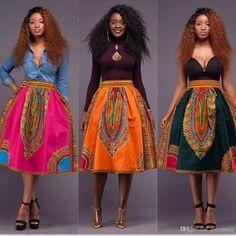 Dashiki skirt, african women's skirt, Angelina style, gathers skirt, By Diyanu African Fashion Designers, African Inspired Fashion, African Print Fashion, Africa Fashion, Ankara Fashion, African Print Dresses, African Dresses For Women, African Wear, African Attire