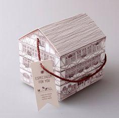 House gift box 10 set Sketch