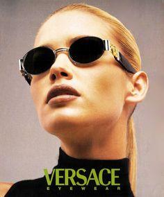 Valeria Mazza by Richard Avedon for Versace Eyewear 1996 Versace Eyewear, Richard Avedon, Fashion Advertising, Editorial Fashion, Magazine Editorial, Fashion Photography, Photography Portraits, Glamour Photography, Lifestyle Photography