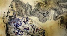Gabriel Moreno is a Spanish illustrator, engraver and painter based in Madrid. Gabriel Moreno es un ilustrador, grabador y pintor español residente en Madrid. www.culturainquieta.com #Illustration #painting #drawing
