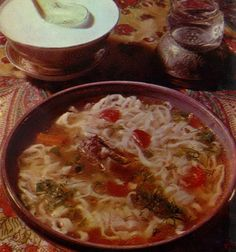 Таджикская кухня - Угро, рецепт