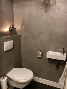 5 Great Ideas for Your Bathroom - My Romodel Small Toilet Room, Guest Toilet, Downstairs Toilet, New Toilet, Small Bathroom, Bathroom Ideas, Small Space Interior Design, Interior Design Tips, Tiny Powder Rooms