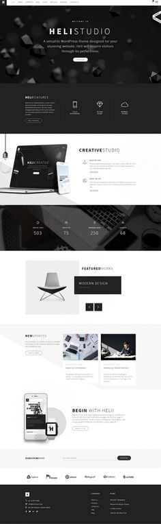 Heli : Creative Multi-Purpose WordPress Theme