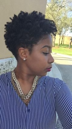 45 Best Images About Tapered Natural Hair Styles On Newest Tapered Haircut for Women Short Hair Tapered Afro, Tapered Natural Hair Cut, Natural Hair Cuts, Natural Hair Styles, Haircuts For Natural Hair, Hair Styles 2016, Curly Hair Styles, Tapered Haircut For Women, Twa Hairstyles
