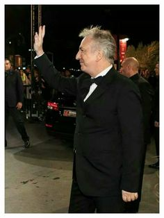 Wave - Alan at the 2014 Marrakech Int'l Film Festival ... December 6th, I think.