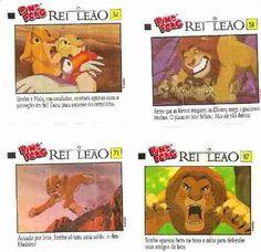 Figurinhas Ping Pong Rei Leão