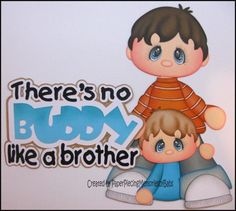 Premade Paper Brothers Set for Scrapbook Page by Babs | eBay