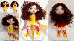 doll Wonder Woman, Superhero, Dolls, Handmade, Fictional Characters, Women, Baby Dolls, Hand Made, Doll