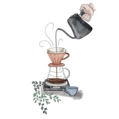 Coffee Design, Cup Design, Coffee Shop, Coffee Lab, Coffee Company, Drip Coffee, Cubist Portraits, Coffee Doodle, Grid Wallpaper