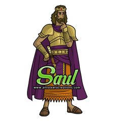 King Saul Sunday SchoolBible Coloring PagesBiblical