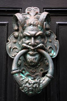 door knocker on the Shambles in York