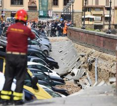 Italie:+200+mètres+de+quai+s'écroulent+près+du+Ponte+Vecchio+à+Florence