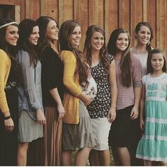 Jinger, Amy, Anna, Jessa, Jana, Joy, Jill and Johanna Duggar. .... Show little Johanna the joy of being pregnant. All of you show her how wonderful it is to have the glow of a growing womb.