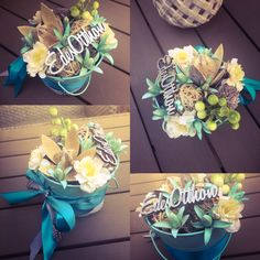 Table Decorations, Spring, Flowers, Diy, Fabrics, Bricolage, Do It Yourself, Royal Icing Flowers, Flower