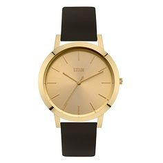 Watch black & gold