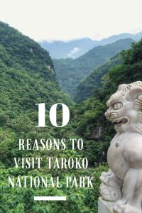 Taroko Gorge, Taiwan, is one of the most awe inspiring National Parks in the world