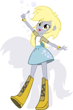 my little pony derpy | equestria girls derpy by rariedash on deviantart ponybots roll out by ...