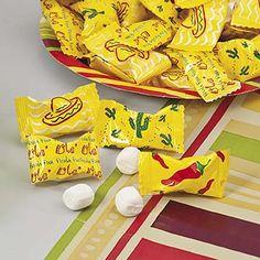 Fiesta Cinco de Mayo Party Candy.