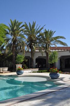 Private Residence II - mediterranean - exterior - phoenix - Exteriors By Chad Robert