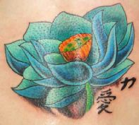 14 best chinese character tattoos images on pinterest lotus lotus flower with chinese characters mightylinksfo