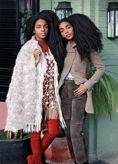 Twinning Moment with TK Wonder and Cipriana Quann - Daily Front Row - http://fashionweekdaily.com/twinning-moment-tk-wonder-cipriana-quann/