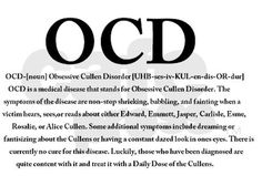 I have OCD for sure!