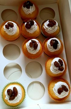 Cupcakes chipolata/boerenjongens