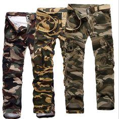 ... camuflaje ejército Camo y camuflaje jeans para hombre 55(China
