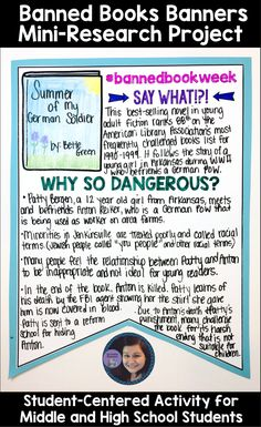 Celebrate Banned Books Week with this Student-Centered Activity for Secondary Students