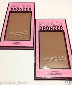 Victoria's Secret Mega Glow Bronzer Light Medium Deep Lot of 2