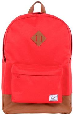 Herschel Supply Heritage Backpack    Price: $46.79 - $54.95        If you want to look like an attention-needy child, you should shave your head, die your scalp blue, and walk around with a blinking neon-lit backpack. If you want to look like a chill, relaxed individual who has it together, you should wear the Herschel Supply Heritage Backpack.Product FeaturesMaterial: canvasVolume...  http://herschelsupplycoheritagebackpack.hotproductsinusa.com