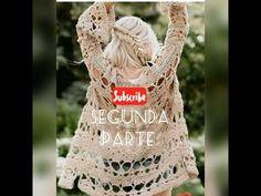 Crochet Jacket, Crochet Shawl, Crochet Videos, Youtube, Make It Yourself, Lana, Handmade, Facebook, Women