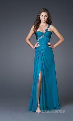 Sheath Chiffon Asymmetric Long Dress Charm85949