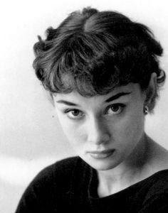 Audrey Hepburn publicity for 'The Secret People', 1950. Photo by Bassano.