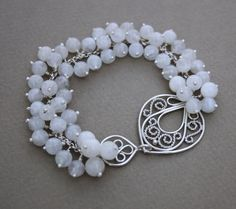 #filigree #silver #bracelet #handmade #amade #jewellery