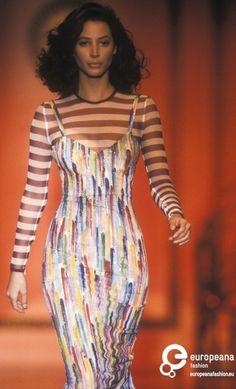 Christy Turlington - Atelier Versace. 1993