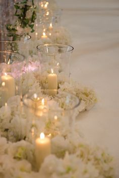 Candles and vases www.essentialweddinghire.com - Flowers by www.essentialcouture.co.uk. Vases, Candles, Pure Products, Table Decorations, Flowers, Wedding, Home Decor, Valentines Day Weddings, Decoration Home
