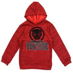 Toddler Boy/'s Marvel Black Panther Poly Fleece Hoodie w//Pant