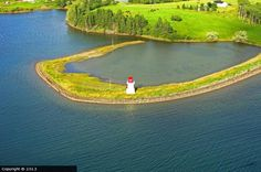 Bourgeois Inlet #lighthouse [2004 - River Bourgeois, Nova Scotia, #Canada]    http://dennisharper.lnf.com/
