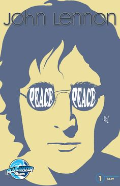 """Orbit: John Lennon COMIC BOOK. 1st printing cover.  John Lennon''s post Beatles life was every bit as amazing as his time as part of the legendary Fab Four. A In the upcoming Bluewater A comic book """"Fame: John Lennon"""", writer Marc Shapiro looks at those up and down moments that defined this true artist and renaissance man''s final years...right up to the moment when the music truly died. Now in print and Itunes, Nook & Kindle."""