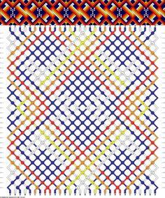 Muster # 53297, Streicher: 30 Zeilen: 32 Farben: 5