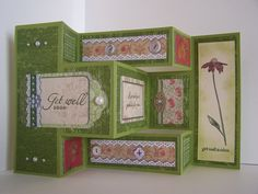 TriFold With Grateful Bunch Bundle  Tri Fold Cards Tri Fold And