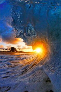 The Eye of The Wave - Sunset - HAWAII