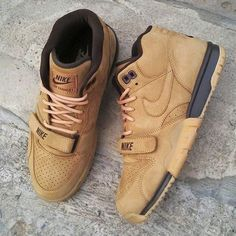#Nike Air Trainer # Wheat #sneakers