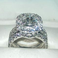 One Neil Lane diamond wedding ring set in 14k white gold