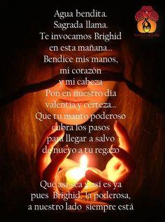 Invocación mañanera de Brighid (TemplodeBrighidCoven en facebook)