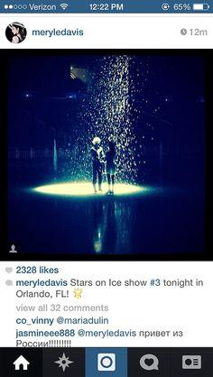 Charlie and Meryl Stars on Ice