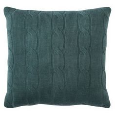 Threshold™ Cable Knit Toss Pillow - 20x20""