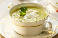 Detox-Diät - Kur 3. Tag: Mittagessen- Kohlrabisuppe