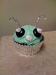 Alien CUPCAKE